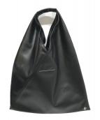 MM6 Maison Margiela(エムエムシックス メゾンマルジェラ)の古着「ミニトートバッグ」|ブラック