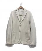 CIRCOLO 1901(チルコロ1901)の古着「ストレッチテーラードジャケット」 アイボリー
