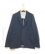 CIRCOLO 1901(チルコロ1901)の古着「コットンテーラードジャケット」 ネイビー