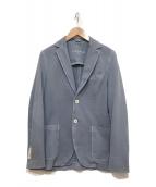 ()の古着「コットンテーラードジャケット」 ブルー