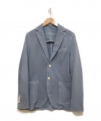 CIRCOLO 1901(チルコロ1901)の古着「コットンテーラードジャケット」 ブルー