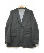 ()の古着「ウール2Bジャケット」|ブラック