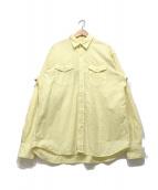 ()の古着「ワークシャツ」|イエロー