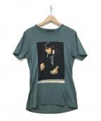 Thee Hysteric XXX(ジィーヒステリックトリプルエックス)の古着「プリントTシャツ」 グリーン