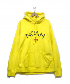 Noah(ノア)の古着「''LOGO''パーカー」 イエロー