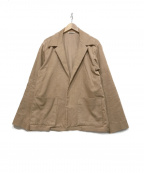 AURALEE()の古着「ヘンプコーデュロイジャケット」|ピンク
