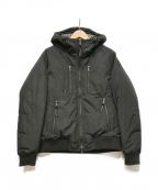 EPOCA UOMO(エポカウォモ)の古着「ダウンジャケット」|オリーブ