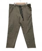 SUNSEA(サンシー)の古着「SNM4 PANTS」 ブラウン