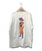 flagstuff()の古着「長袖Tシャツ」|ホワイト