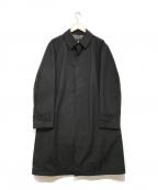 BURBERRY BLACK LABEL()の古着「ステンカラーコート」 ブラック