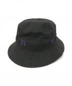 Ys(ワイズ)の古着「バケットハット」|ブラック