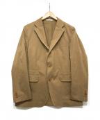 ETONNE(エトネ)の古着「コットンテーラードジャケット」|ベージュ