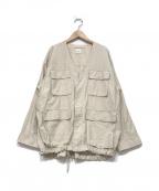 Spick and Span(スピックアンドスパン)の古着「M65リワークフィールドジャケット」|ベージュ