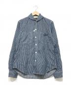 The Stylist Japan(ザスタイリストジャパン)の古着「ヒッコリーシャツ」|ブルー