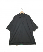 CASEY CASEY(ケーシーケーシー)の古着「ポロシャツ」 ブラック