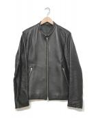 LIDnM(リドム)の古着「ライダースジャケット」|ブラック