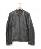 LIDnM()の古着「ライダースジャケット」|ブラック