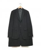 UNDERCOVERISM(アンダーカバーイズム)の古着「レイヤードチェスターコート」|ブラック