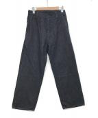()の古着「ワイドデニムパンツ」|ブルー