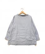 COMME des GARCONS SHIRT BOY(コムデギャルソンシャツ ボーイ)の古着「プルオーバーシャツ」 スカイブルー