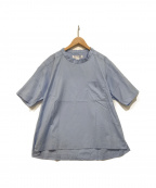 COMME des GARCONS SHIRT BOY(コムデギャルソンシャツ ボーイ)の古着「カットソー」 スカイブルー