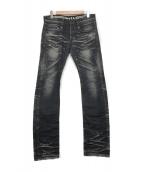 ()の古着「デニムパンツ」|ブラック