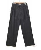()の古着「2プリーツパンツ」|ブラック