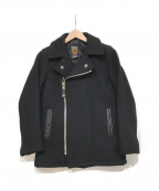 Schott(ショット)の古着「メルトンライダースジャケット」 ブラック