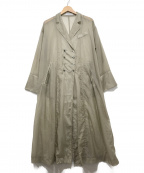 ETRE TOKYO(エトレトウキョウ)の古着「シアーコート」|ベージュ