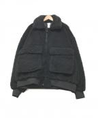 DELUXE(デラックス)の古着「ボアジャケット」|ブラック