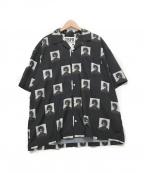 TIGHTBOOTH PRODUCTION(タイトブースプロダクション)の古着「オープンカラーシャツ」|ブラック