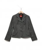 V.W. RED LABEL(ヴィヴィアンウエストウッドレッドレーベル)の古着「テーラードジャケット」|グレー