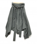 V.W. RED LABEL(ヴィヴィアンウエストウッドレッドレーベル)の古着「デザインスカート」|グレー