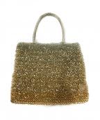ANTEPRIMA(アンテプリマ)の古着「ワイヤーハンドバッグ」|ベージュ