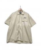 Manastash(マナスタッシュ)の古着「ワークシャツ」 ベージュ