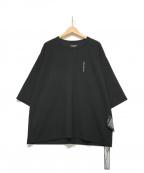 SHAREEF(シャリーフ)の古着「刺繍Tシャツ」 ブラック
