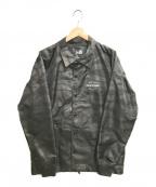 New Era(ニューエラ)の古着「コーチジャケット」|ブラック