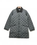 Barbour(バブアー)の古着「キルティングコート」|グレー
