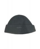 ()の古着「ニット帽」 ブラック