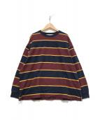 ()の古着「ラガーシャツ」|ボルドー