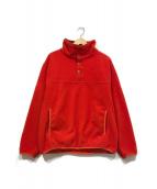 ()の古着「フリースジャケット」|レッド