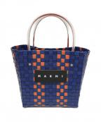 MARNI(マルニ)の古着「ピクニックバッグ」|ネイビー