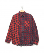 R.H.Vintage(ロンハーマン・ヴィンテージ)の古着「チェックシャツ」 レッド