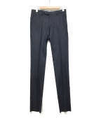 PT01(ピーティーゼロウーノ)の古着「ウールスラックス」 ネイビー