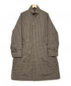Gymphlex(ジムフレックス)の古着「スウィングコート」 ブラウン