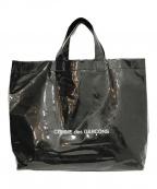 COMME des GARCONS(コムデギャルソン)の古着「PVCトートバッグ」|ブラック