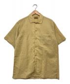 ()の古着「オープンカラーシャツ」 ベージュ