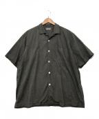 COMME des GARCONS HOMME(コムデギャルソン オム)の古着「オープンカラーシャツ」 グレー