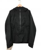 DESCENTE ALLTERRAIN(デザイント オルテライン)の古着「PARA-HEM SHELL JACKET」|ブラック