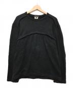 COMME des GARCONS(コムデギャルソン)の古着「スウェット」|ブラック